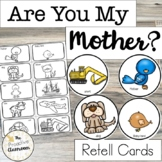 Are You My Mother Retelling Cards   Family Activity   Reading   Puppets