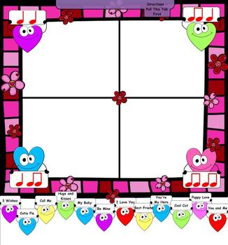 Are You My Valentine? - A Sounds Per Beat Game/Activity