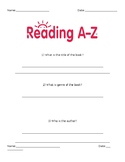 Are You Okay? Reading A-Z Student Packet
