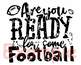 Are You Ready For Some Football SVG sports game ball grunge distressed 911S