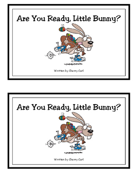 Are You Ready, Little Bunny? guided reader