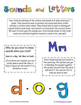 Are You Ready for 1st Grade?