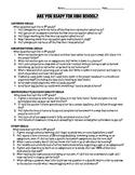 Are You Ready for High School? A Behavior Checklist