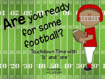 """Are You Ready for Some Football? Language activities for """""""