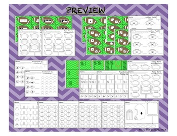 Are You Ready for Some Football? Math and Literacy Centers and Activities Bundle