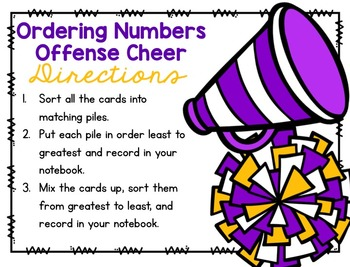 Are You Ready for Some Football? Print & Play Second Grade Math Stations