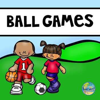 Are You Ready to Play Ball?  Preschool Math Fun