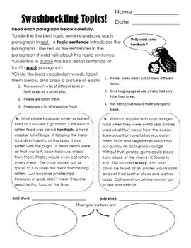 Are You Savvy With Topic Sentences?