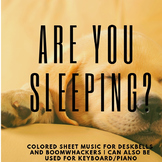 Are You Sleeping, Brother John? (Colored Sheet Music)