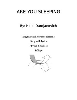 Are You Sleeping (comprehensive music lesson)