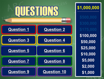Are You Smarter Than Your Teacher? PowerPoint Template