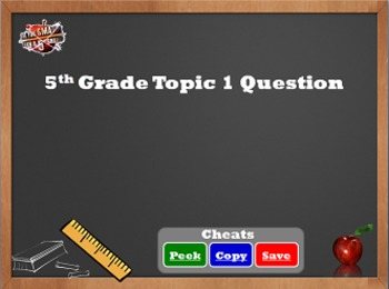are you smarter than a 5th grader game templatecolorful creations, Modern powerpoint
