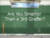 Are You Smarter Than a Third Grader - EOG Review - Math and Reading