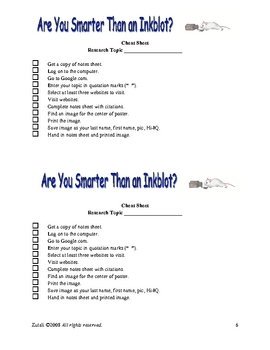 Flowers for Algernon Research Plan: Are You Smarter Than an Inkblot?