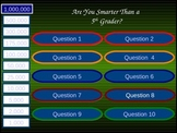 Are You Smarter than a Fifth Grader Place Value Game