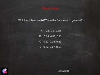 Are You Smarter than the STAAR test 4th Grade VERSION 2