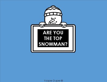 Are You The Top Snowman?