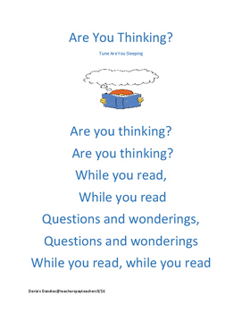 Are You Thinking? (while you read)