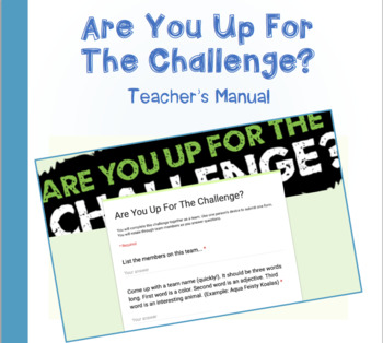 Are You Up For The Challenge? Google Form Rational Numbers Word Problems 7.NS.3