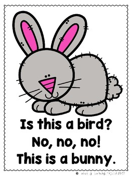 Are You a Bird?  (A Sight Word Emergent Reader and Teacher Lap Book)