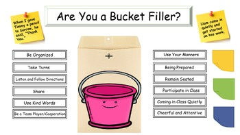 Are You a Bucket Filler?