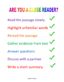 Are You a Close Reader?