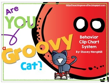 Are You a Groovy Cat? Behavior Clip Chart