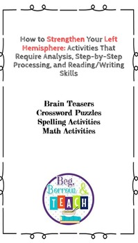 Are You a Left- or Right-Brain Thinker Growth Mindset Survey