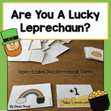 Open Ended Reinforcement Game:Are You a Lucky Leprechaun?