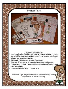 Rocks and Soils Bundle (Physical Properties Task Cards Included)