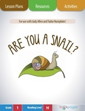 Are You a Snail Lesson Plans & Activities Package, First Grade (CCSS)
