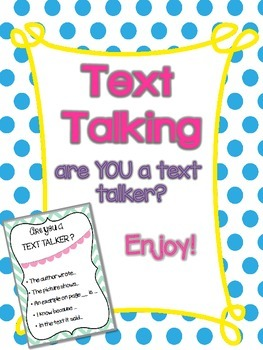 Are You a Text Talker?