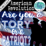 Are You a Tory or a Patriot? An American Revolution Activity (Distance Learning)