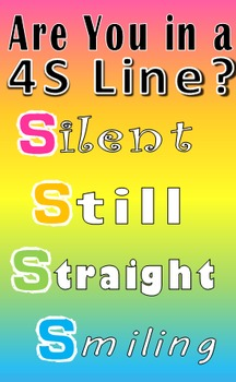 Are You in a 4S Line? Classroom Poster