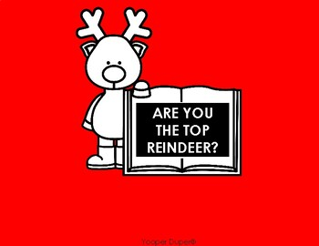 Are You the Top Reindeer? Math Game