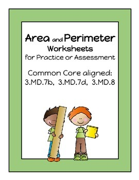 Area and Perimeter Worksheets - CCSS Aligned
