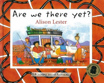 Are we there yet? - Postcard to Nan and Poppa!