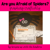 Are you Afraid of Spiders? Graphing Craftivity