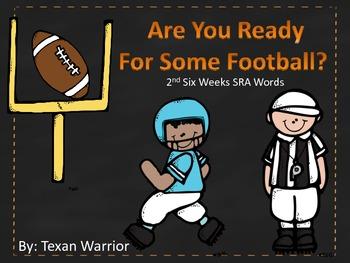 Are you Ready for Some Football? SW 2nd Six Weeks SRA Imagine It