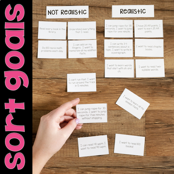 Goal Setting Lessons for SMART Goals