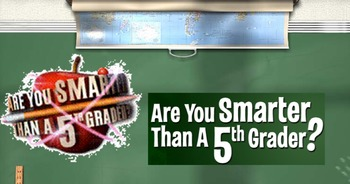Are you Smarter than a 5th Grader (Notebook software)