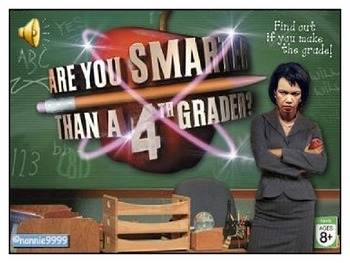 Are you Smarter than your 4th Grade Teachers- NGSS