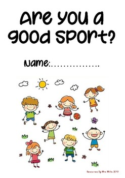 Are you a Good Sport? Social Skills Booklet
