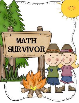 Are you a MATH SURVIVOR? {Math Survivor Pack}
