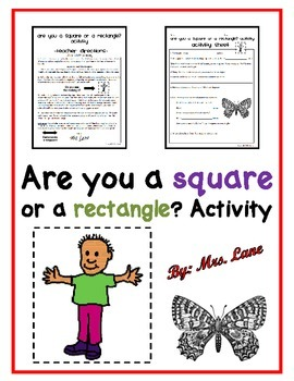 Are you a square or a rectangle? Activity