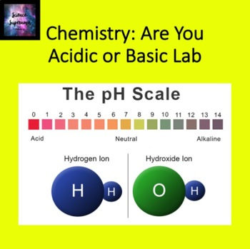 Acids and Bases: Are you acidic or basic?