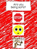 Are you being safe visual schedule