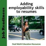 Are you job ready? Including employability skills in resumes