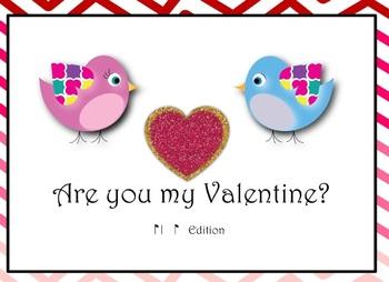 Are you my Valentine? Rhythm Activity