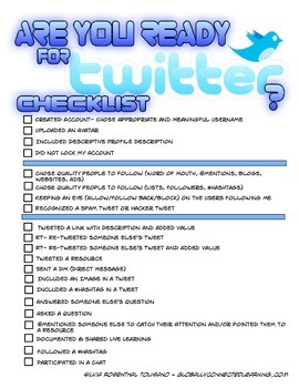 Are you ready for Twitter?